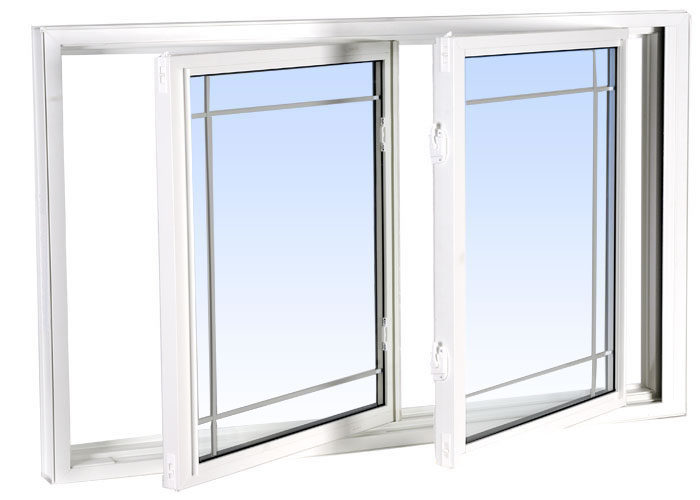 Rotating Glass Window