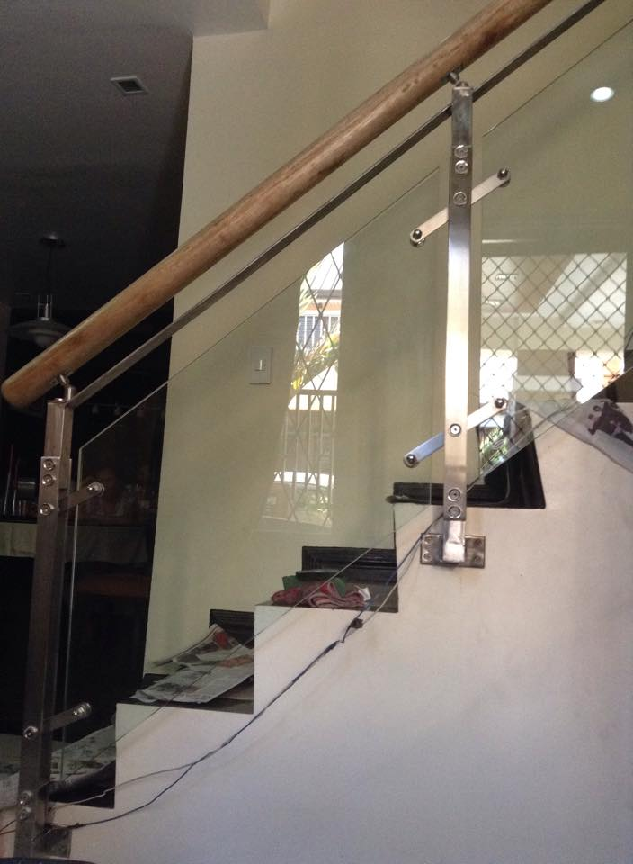 Stainless Stair Railings Side
