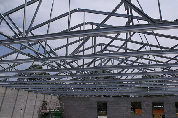 home metal trusses