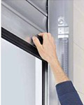 Manual operation Roll up Door